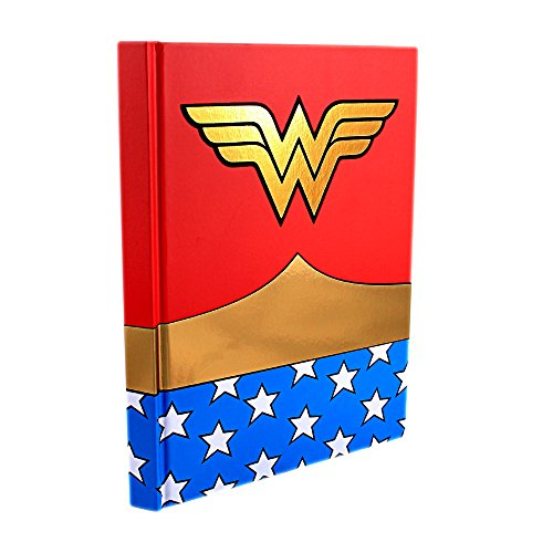 Wonder+Woman Products : Silver Buffalo WW0150 DC Comics Wonder Woman Uniform Hard Cover Journal with Ribbon Book Mark, 160-Pages, 6 in. x 8 in