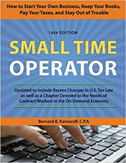 Tax for small business book