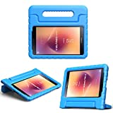 MoKo Samsung Galaxy Tab A 8.0 2017 Case - Kids Shock Proof Convertible Handle Super Protective Stand Cover Case for Galaxy Tab A 8.0 2017 (SM-T380/T385) (NOT FIT 2015 Tab A 8.0 SM-T350/P350), BLUE