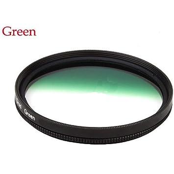 Market&YCY Filtro de gradiente de gradiente Verde Degradado de 58 ...