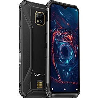 DOOGEE S95 2020 Rugged Smartphone Unlocked, 48MP AI Triple Rear Camera Helio P90 Octa-Core 6GB+128GB, 5150mAh Global 4G LTE Cell Phones Android 9.0 IP68 Waterproof, 6.3-inch FHD+, NFC, Wireless Charge