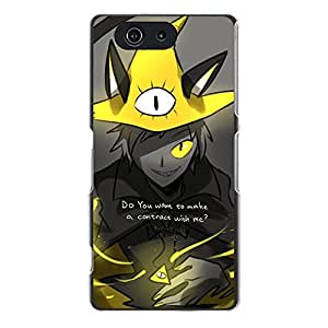 Personalized Custom Gravity Falls Phone Case Protective Hard Cover for Sony Xperia Z3 Compact Z3 Mini Gravity Falls Anime Cool Design