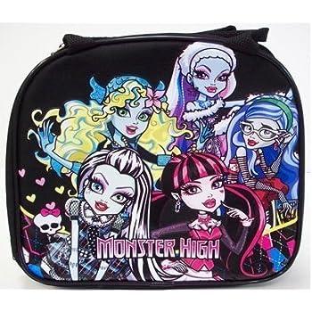 Amazon.com: Bolsa para el almuerzo, diseño de Monster High ...