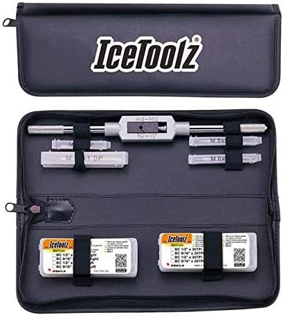 Schwarz M Xpert Tap Set IceToolz mit Hundle