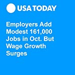 Employers Add Modest 161,000 Jobs in Oct. But Wage Growth Surges | Paul Davidson