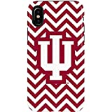 Indiana University iPhone X Case - Indiana Chevron Print   Schools X Skinit Pro Case