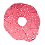 MagiDeal Pet Cone Recovery E-Collar for Cats Dogs Anti-Bite Elizabethan Collar - Pink XL