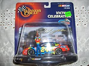 Winner's Circle Jeff Gordon Daytona 500 February 16, 1997 Victory Celebration 1/43 Scale with Display and Figure NASCAR by Nascar Chevrolet