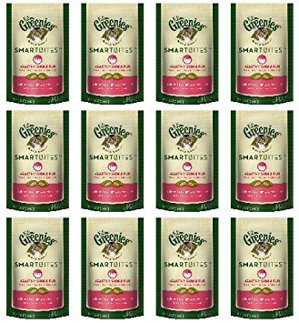 Feline Greenies Salmon SmartBites Skin & Fur 1.6Lbs (12 x 2.1oz)