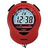MARATHON ST083013RD Adanac Digital Glow Stopwatch Timer (Red)