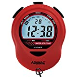 MARATHON ST083013 Adanac Digital Glow Stopwatch Timer with Extra Large Display and Digits - Battery Included