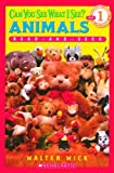 Can You See What I See? Animals, Walter Wick, 0738383635