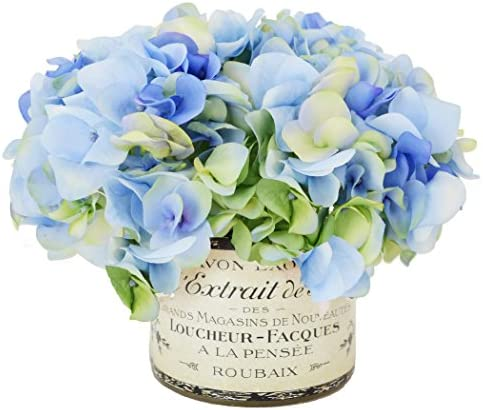 Creative Displays Multi-Tone Hydrangea in French Label Container