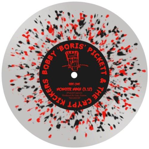 Bobby Pickett - Monster Mash [7''] (Red/Black Splatter Vinyl, import, limited to 300 worldwide!!)