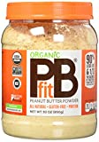 PBfit Organic All-Natural Peanut Butter Powder, 30 Ounce