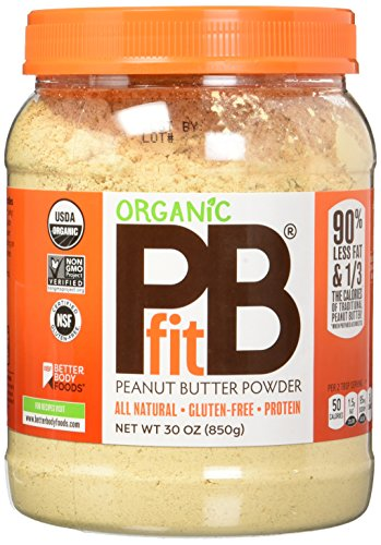 PBfit Organic All-Natural Peanut Butter Powder, 30 Ounce (Pb Powdered)