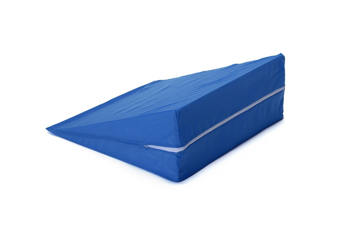 Zippered Cover for Hermell Products 10'' Wedge Cushion FW4080BL, Blue