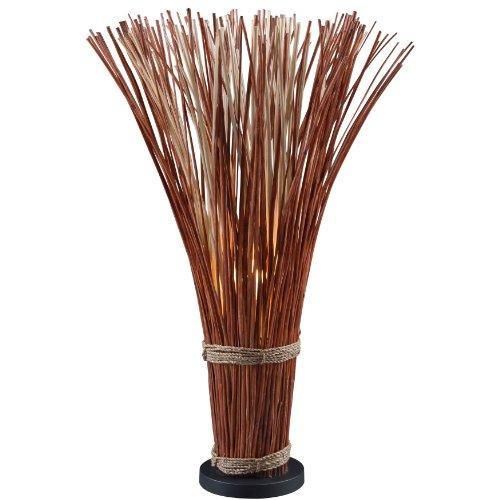 Kenroy Home 21065NR Sheaf Floor Lamp, Natural Reed
