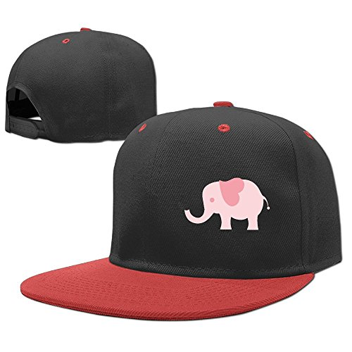 YELOFISH Kids' Hip Hop Baseball Caps Love Elephant Snapback Hats