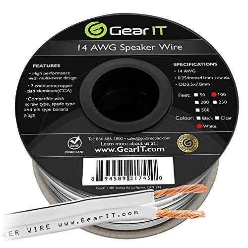 white speaker wire - 5