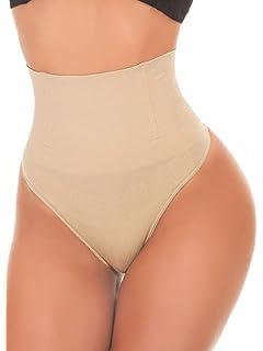 3c4eebf11d5 SEXYWG Women Waist Cincher Girdle Tummy Control Thong Panty Slimmer Body  Shaper