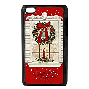 Merry Christmas Ipod Touch 4 Case, Best Durable Christmas Gift Ipod 4 Case