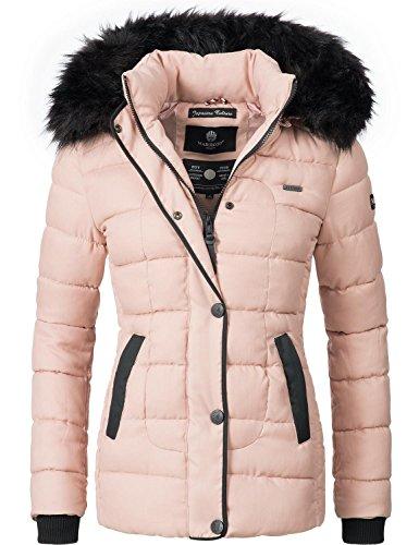 Rose Couleurs Veste Unique d'hiver pour XL Marikoo Dame matelasse XS 8 w1q05v