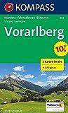 Vorarlberg: Wandern, Rad, Skitouren, GPS-genau  1:50000