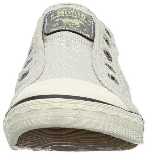 Mustang - Zapatillas de estar por casa para mujer Blanco - Off White (Ice)