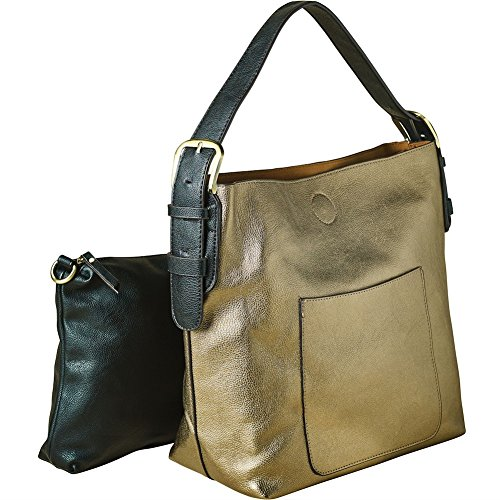 Purse Small Hobo Classic Clutch Bag Women's Vegan In Bronze and 2 1 Shoulder Leather wvx8aRqp