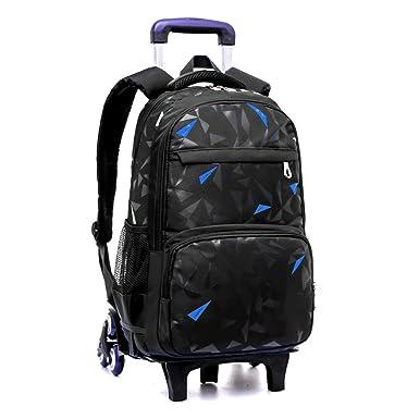 Nuevo bolso de la carretilla de estudiante de secundaria seis ...