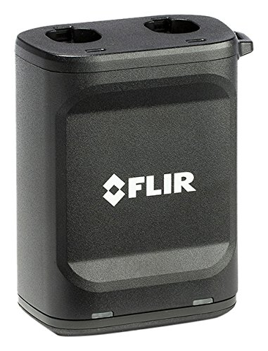 FLIR T199425ACC Dual Bay Battery Charger for E75, E85 and E95 Thermal Cameras
