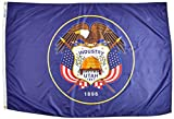 Annin Flagmakers Model 145370 Utah State Flag 4×6 ft. Nylon SolarGuard Nyl-Glo 100% Made in USA to Official State Design Specifications. Review