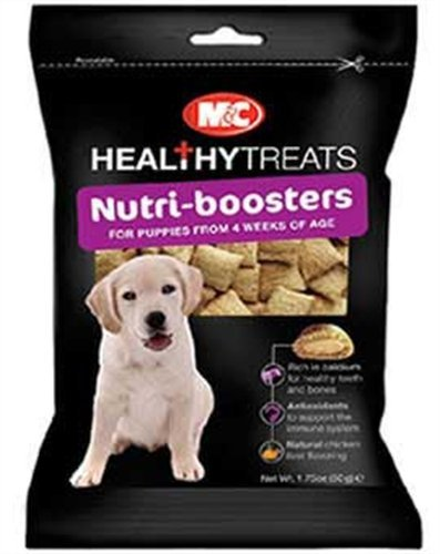 MandC Healthy Treats Nutri-Boosters for Puppies, My Pet Supplies