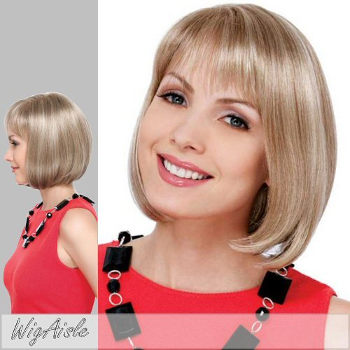 EMMA (Estetica Design) - Synthetic Monofilament Full Wig in R24_18BT (Estetica Designs Monofilament Wigs)