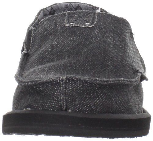 Sanük Sidewalk Surfer Kids Kingston 2 Black