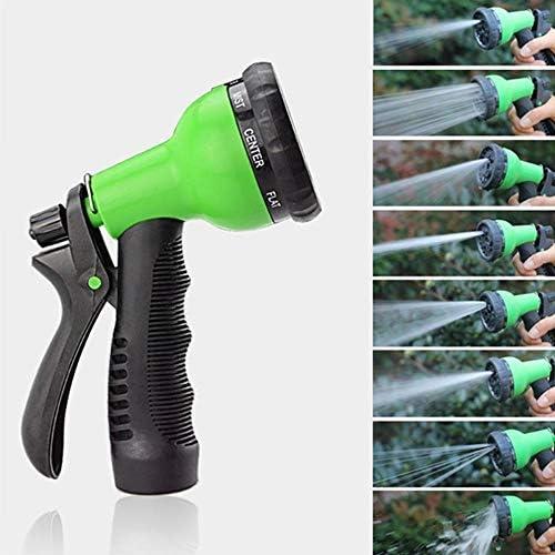 CHUYU Garden Hose Expandable Magic Flexible Water Hose Eu Hose Plastic Hoses Pipe With Spray Gun To Watering 25FT-200FT, Green1,EU Version