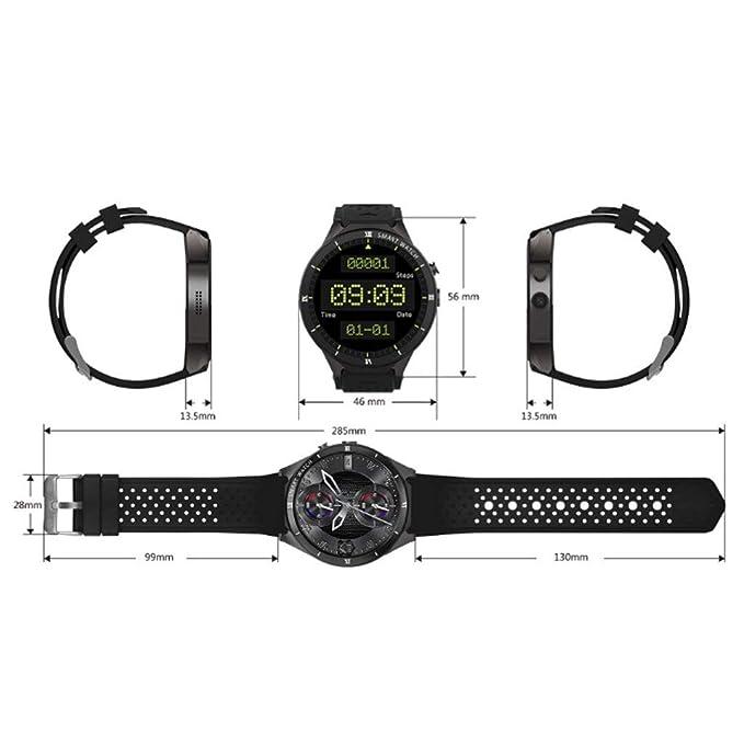 HAOHAOWU Reloj Inteligente, Rastreador De Ejercicios Pulsera ...