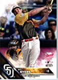 2016 Topps Update #US268 Wil Myers San Diego Padres Home Run Derby Baseball Card in Protective Screwdown Display Case