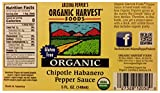 Organic Harvest Gluten Free Chipotle Habanero Pepper Sauce, 5 Fluid Ounce - One Bottle
