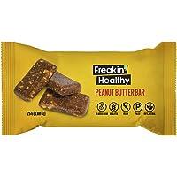 Freakin Healthy Peanut Butter Snack Bar 25g, Gluten Free, Vegan and Healthy Snacks