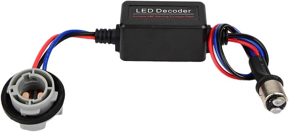 LED-Decoder 2PCS LED Decoder Device Load Resistor Bypass Verdrahtung Fehlerfrei Decoder 1157