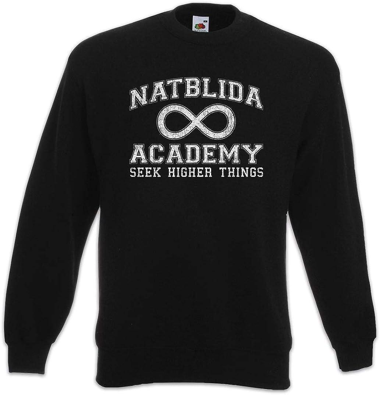 Urban Backwoods Natblida Academy Pullover Felpe Maglione Sweatshirt