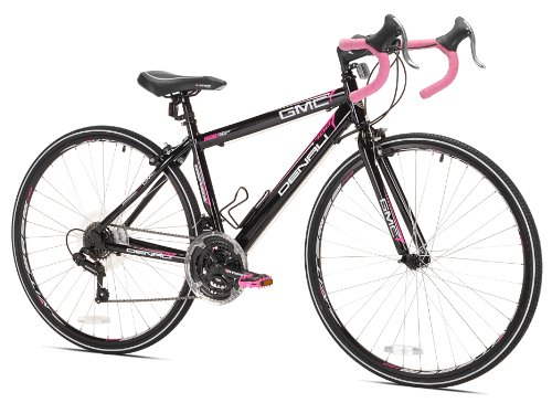 Bike Gmc Kent Denali Road (GMC Denali Road Bike, 41cm/X-Small, Black/Pink)