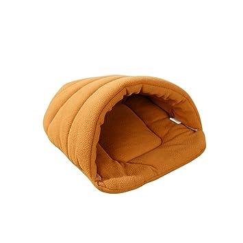 Saco de dormir animales ueetek gato perro cojín cama casa de peluche: Amazon.es: Productos para mascotas