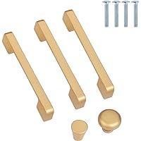 10 stuks meubelgrepen, ladegrepen, roestvrij staal, goud, kastgrepen, moderne aluminiumlegering, keukengrepen voor…