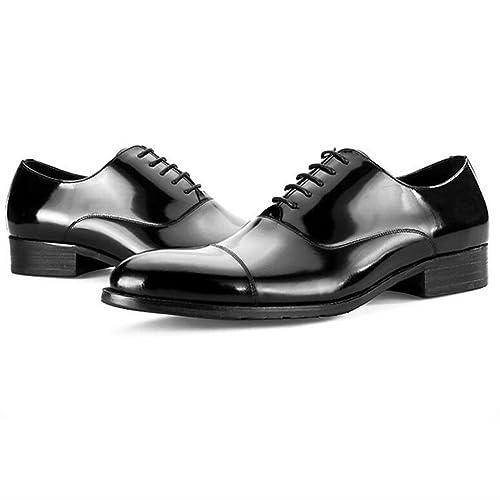 983e10793e Zapatos de Cuero de Alta Calidad - Zapatos de Vestir de Negocios de Charol  de los