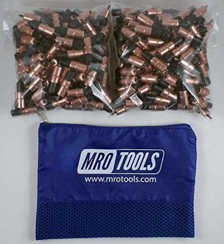 400 1/8 Extra Short Cleco Sheet Metal Fasteners w/ Mesh Carry Bag (KK2S400-1/8) by MRO Tools Cleco Fasteners