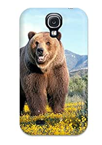Galaxy S4 Case, Premium Protective Case With Awesome Look - Bear Pics