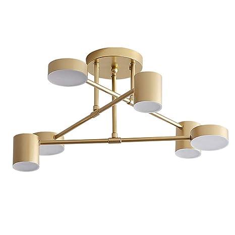 Amazon.com: CCSUN - Lámpara de techo LED nórdica moderna ...